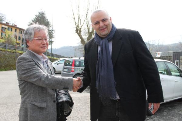 Filippo Bellesi e Shunji Oguro